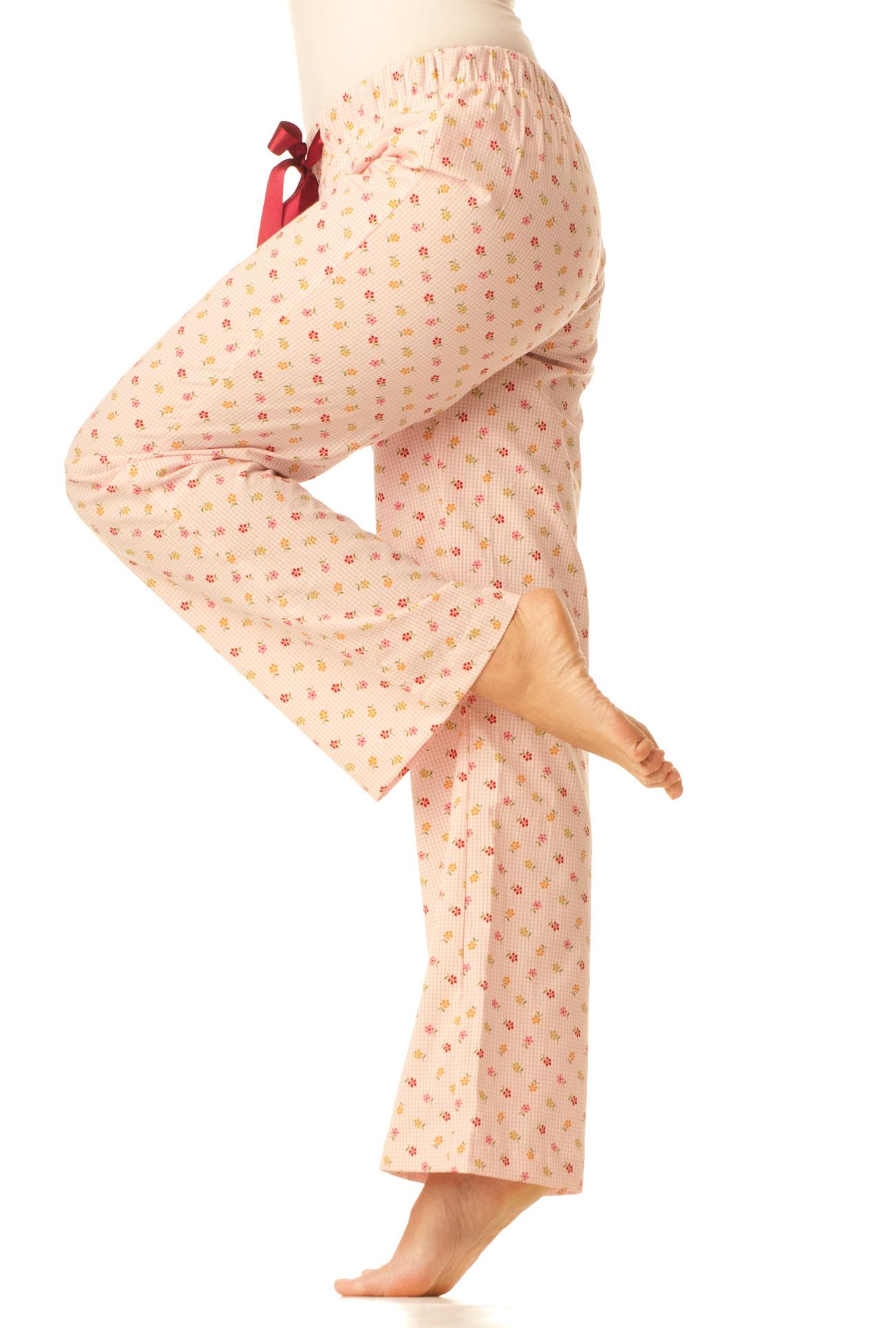 Pyžamové kalhoty - Drobné kytičky